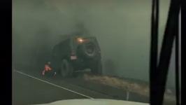 Santa Barbara Animal Services Ride with Crews Through Whittier Fire