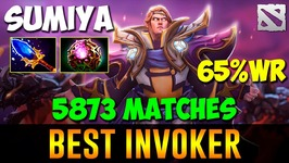 SumiYa Best Invoker 5873 Games 65percent Win Rate Dota 2