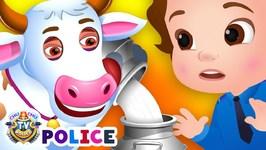 ChuChu TV Police Save the Milk from Bad Guys