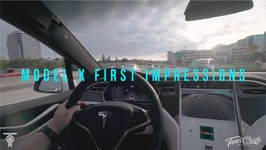 Tesla Model X First Impressions, Autopilot, first charge