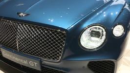 Bentley Continental GT at 2018 Geneva Motor Show