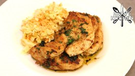 Butter Fried Chicken Steaks - Cheap - Easy To Make And So Yummy