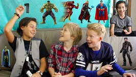 The Avengers Vs. The Justice League Ft. Isaak Presley And Cody Veith
