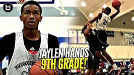 Jaylen Hands In 9th Grade The Baby Faced Assassin Was Still Trying To Baptize Dudes