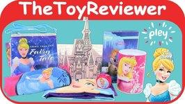 Cinderella Pley Subscription Box Disney Princesses Pleybox Unboxing Toy Review