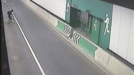 Cyclist Stumbles Wrong Way Through Sydney Lane Cove Tunnel