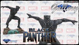 Black Panther Marvel Gallery Collection Statue Unboxing
