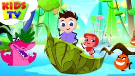 Row Row Row Your Boat - Preebeez Cartoons - Nursery Rhymes For Toddlers