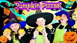 How To Make Oozing Pumpkin Pizza / Fun Kids Pizza Recipe