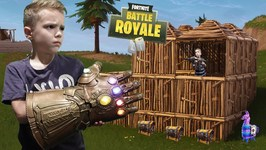 Nerf War - Avengers Infinity Gauntlet Fortnite Battle Royale In Real Life