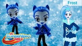 DC Super Hero Girls Toy - Frost Custom Doll with My Little Pony Equestria Girls Minis Tutorial