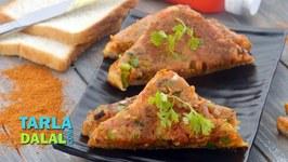 Instant Pav Bhaji Masala Toast-Quick Snack