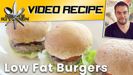 How To Make Low Fat Burgers