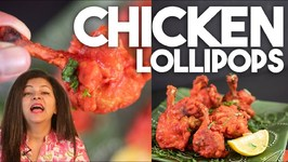 How To make Chicken Lollipop At Home - Restaurant Style