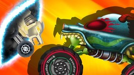 Dinonapped - Haunted House Monster Truck - Cartoon Kids Shows - Vehicles Videos By Kids Channel