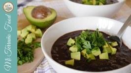 Venezuelan Black Bean Soup