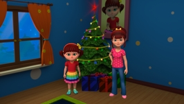 Elsa And Anna Celebrate Christmas-We Wish You a Merry Christmas - Christmas Songs for Children