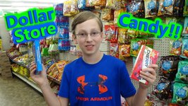 Dollar Store Candy Shopping Haul Taste Test Review