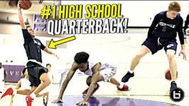 Nico Mannion BREAKS Defender's Ankles!! Gets BUCKETS w - 1 High School QB Spencer Rattler
