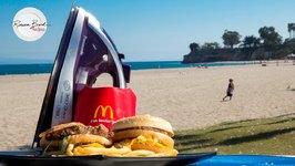 How To Make A McDonald's Big Mac With An Iron