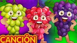 U, U, U, U, Uvas - Aprende Las Frutas Para Niños - Canciones Infantiles En Español