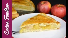 Empanada de manzana facil - Como hacer empanada rapida - Recetas faciles