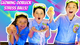 HOW TO MAKE OOBLECK (EASY OOBLECK Stress Ball Recipe!)