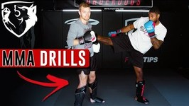 Dutch Kickboxing Partner Drill - Training for Muay Thai And MMA