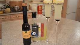Balsamic Limoncello Drop Shots