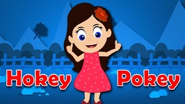 New Hokey Pokey Children Dance Nursery Rhyme with Lyrics