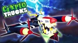 Air Devil - Cryptotrucks - Trucks Cartoons For Children