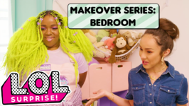 LOL Surprise! Makeover Series Ep. 2: Bedroom