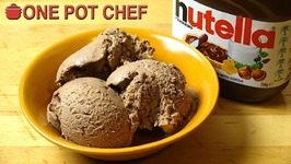 Super Simple Nutella Ice Cream