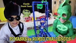 PJ MASKS vs ROMEO CHALLENGES