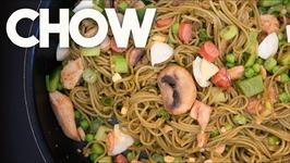 CHOW - QUICK Spaghetti Stir Fry - Easy Weeknight Meals