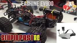 Eachine FPV Googles EV900 Review and FPV RC Car Setup