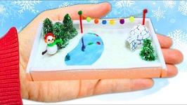 How To Make A Miniature Winter Garden Extrem.