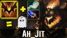 Ahjit Shadow Fiend RIP ENEMIES Dota 2