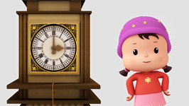 Hickory Dickory Dock-Popular Children's Nursery Rhymes