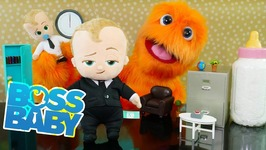 The Boss Baby Movie Toys vs Puppets - Surprise For Kids - Family Fun Kids Pretend Playtime