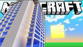 How to Instantly Build a 12-Story Hotel in Minecraft - Custom Command - HD