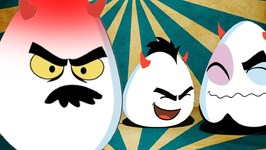 Eggwards Net Loss - Deviled Eggz Cartoons - Animated Videos For Kids
