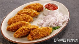 Kurkure Momos - Crunchy And Juicy Soya Veg Momo