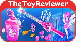 Of Dragons Fairies And Wizards Magical Pixie House Fairy Wand Unboxing Toy Review
