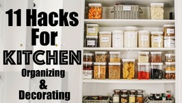 11 HACKS to Decorating and Organizing a SMALL Kitchen  Making the Most of Our Small Kitchen