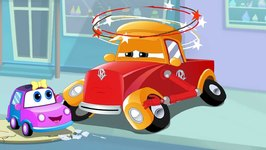 Super Car Royce And The Babys Day Out - In Cartoon Cars Adventures By Kids Channel