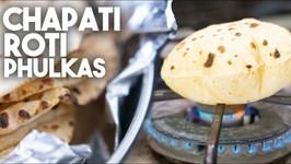 Chapati Or Phulka Style Rotis