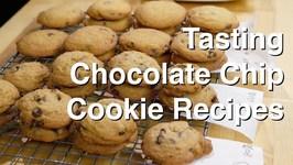 Tasting Chocolate Chip Cookie