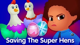 ChuChu TV Police Surprise Eggs  SINGLE  The Super Hens