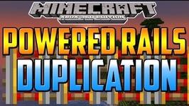 Minecraft XboxOne/Xbox360/PS4/PS3 - NEW Duplication Glitch -How To Duplicate Powered Rails